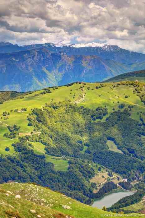 Blick vom Monte Baldo, Italien (8)