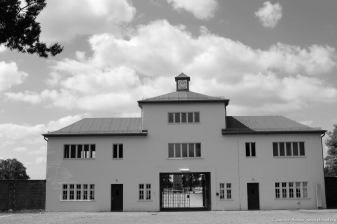 Eingang zum Häftlingslager - Turm A