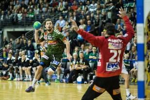 DKB Bundesliga Handball 23.12.2014 Füchse Berlin - Frisch Auf! Göppingen ,J.Radtke,www.pixxxel (26)