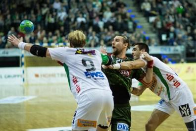 DKB Bundesliga Handball 23.12.2014 Füchse Berlin - Frisch Auf! Göppingen ,J.Radtke,www.pixxxel (30)