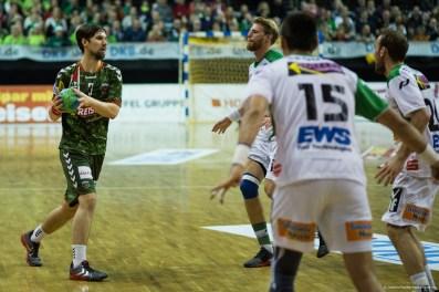 DKB Bundesliga Handball 23.12.2014 Füchse Berlin - Frisch Auf! Göppingen ,J.Radtke,www.pixxxel (38)