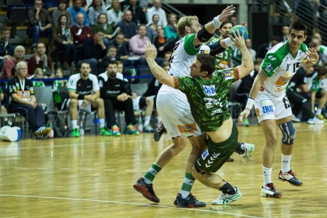 DKB Bundesliga Handball 23.12.2014 Füchse Berlin - Frisch Auf! Göppingen ,J.Radtke,www.pixxxel (59)