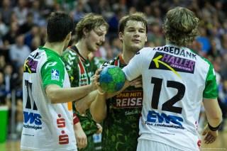 DKB Bundesliga Handball 23.12.2014 Füchse Berlin - Frisch Auf! Göppingen ,J.Radtke,www.pixxxel (67)