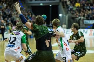 DKB Bundesliga Handball 23.12.2014 Füchse Berlin - Frisch Auf! Göppingen ,J.Radtke,www.pixxxel (68)