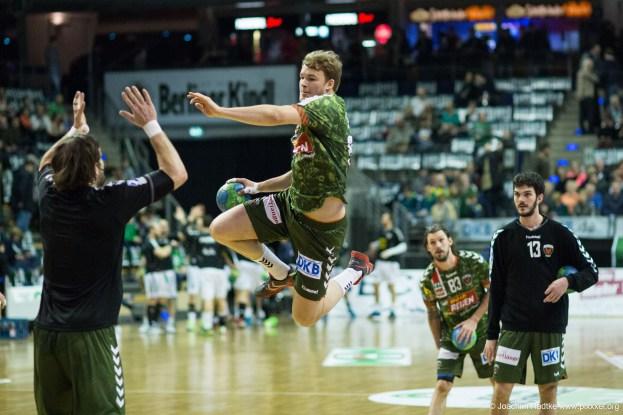 DKB Bundesliga Handball 11.02.2015 Füchse Berlin – GWD Minden (1)