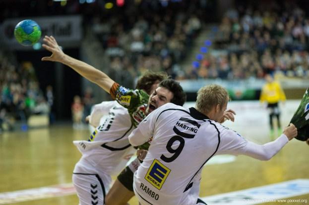 DKB Bundesliga Handball 11.02.2015 Füchse Berlin – GWD Minden (29)