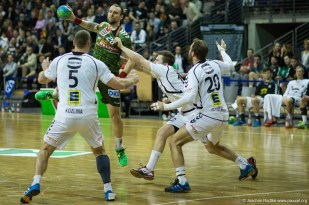 DKB Bundesliga Handball 11.02.2015 Füchse Berlin – GWD Minden (33)