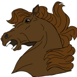 Cartoon Horse Head Free Image