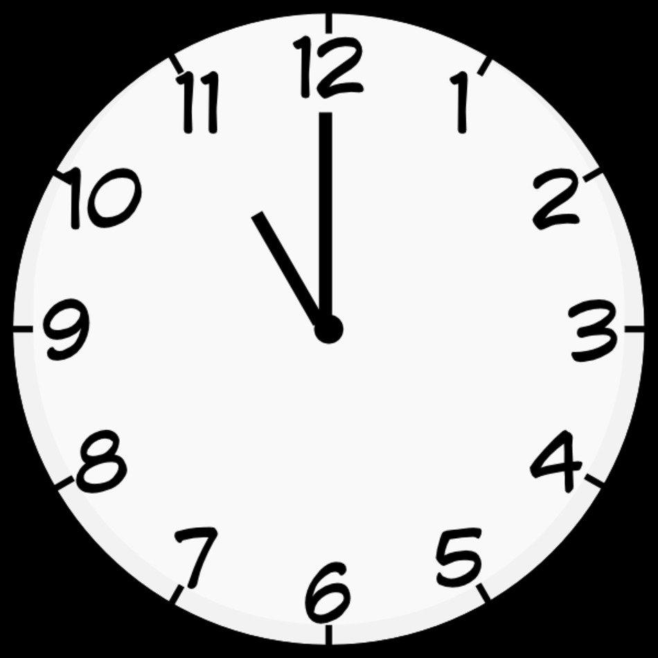 Printable Clock Face Clip Art N5 Free Image