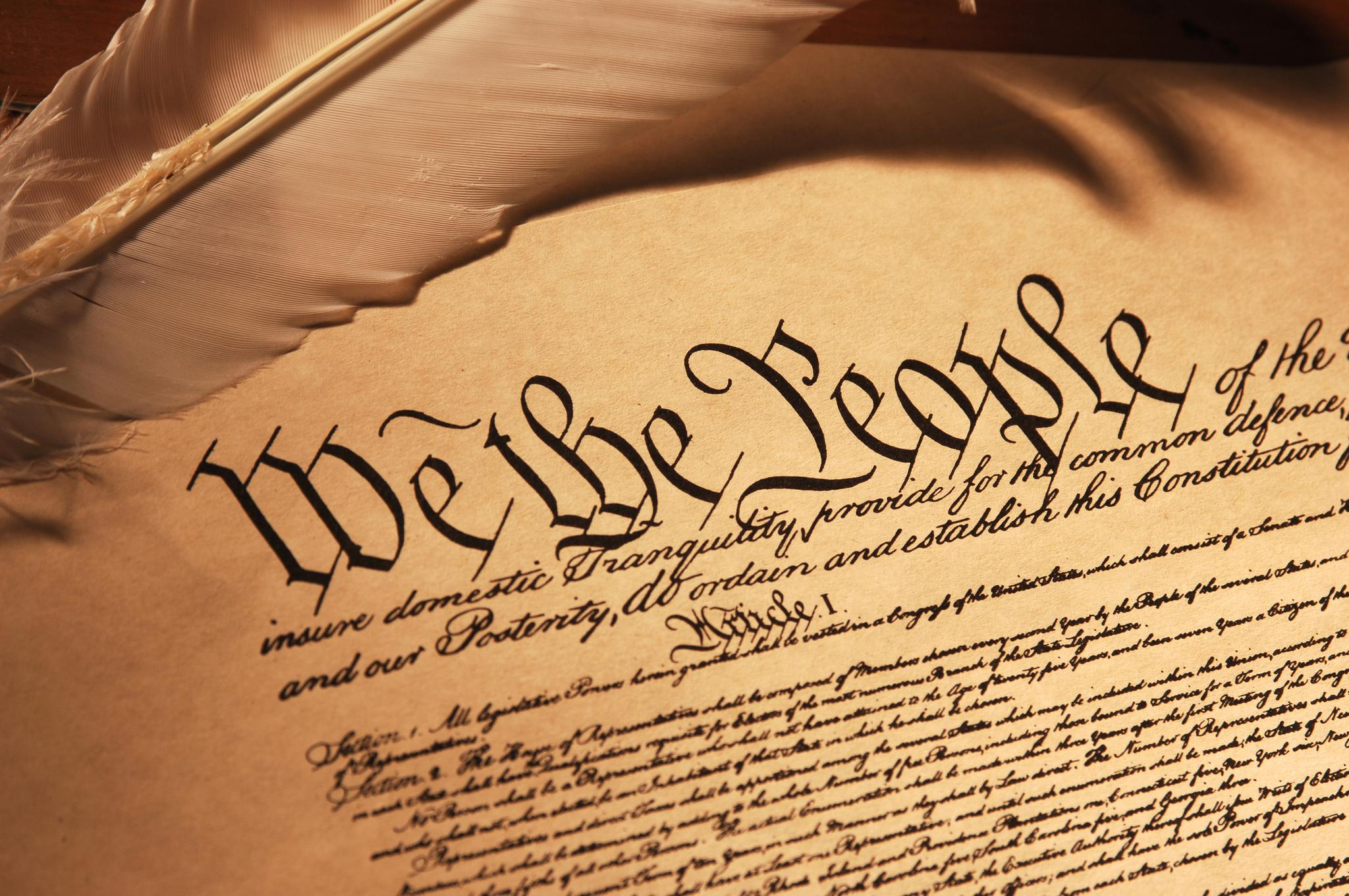 Us Constitution Preamble Drawing Free Image