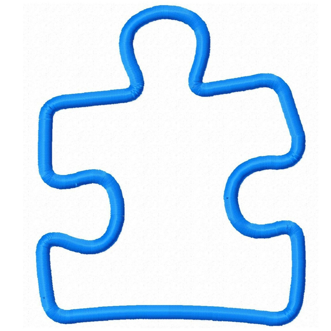 Autism Puzzle Piece Drawing Free Image