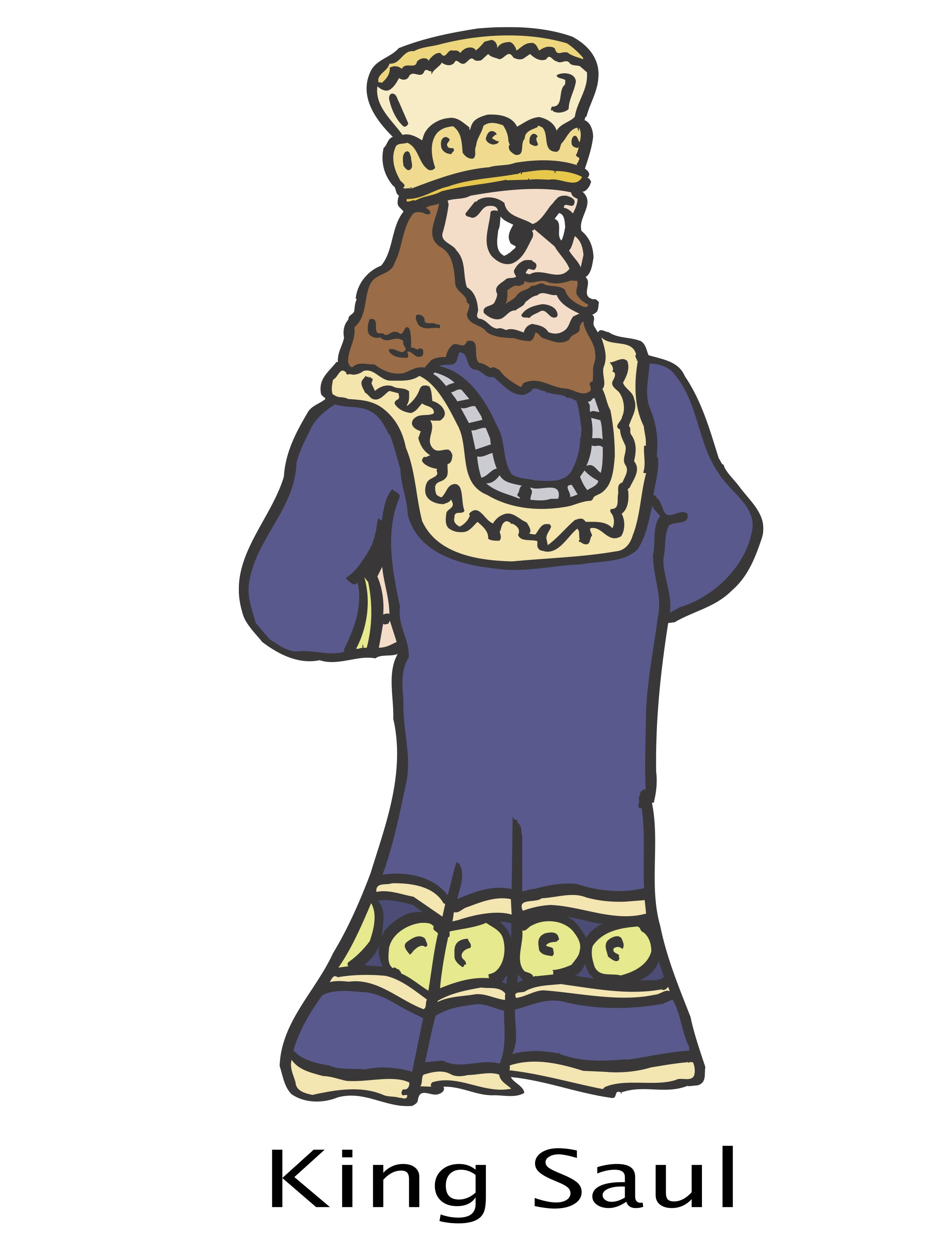 King Saul S Crown The Bible Story Of Saul For Preschoolers