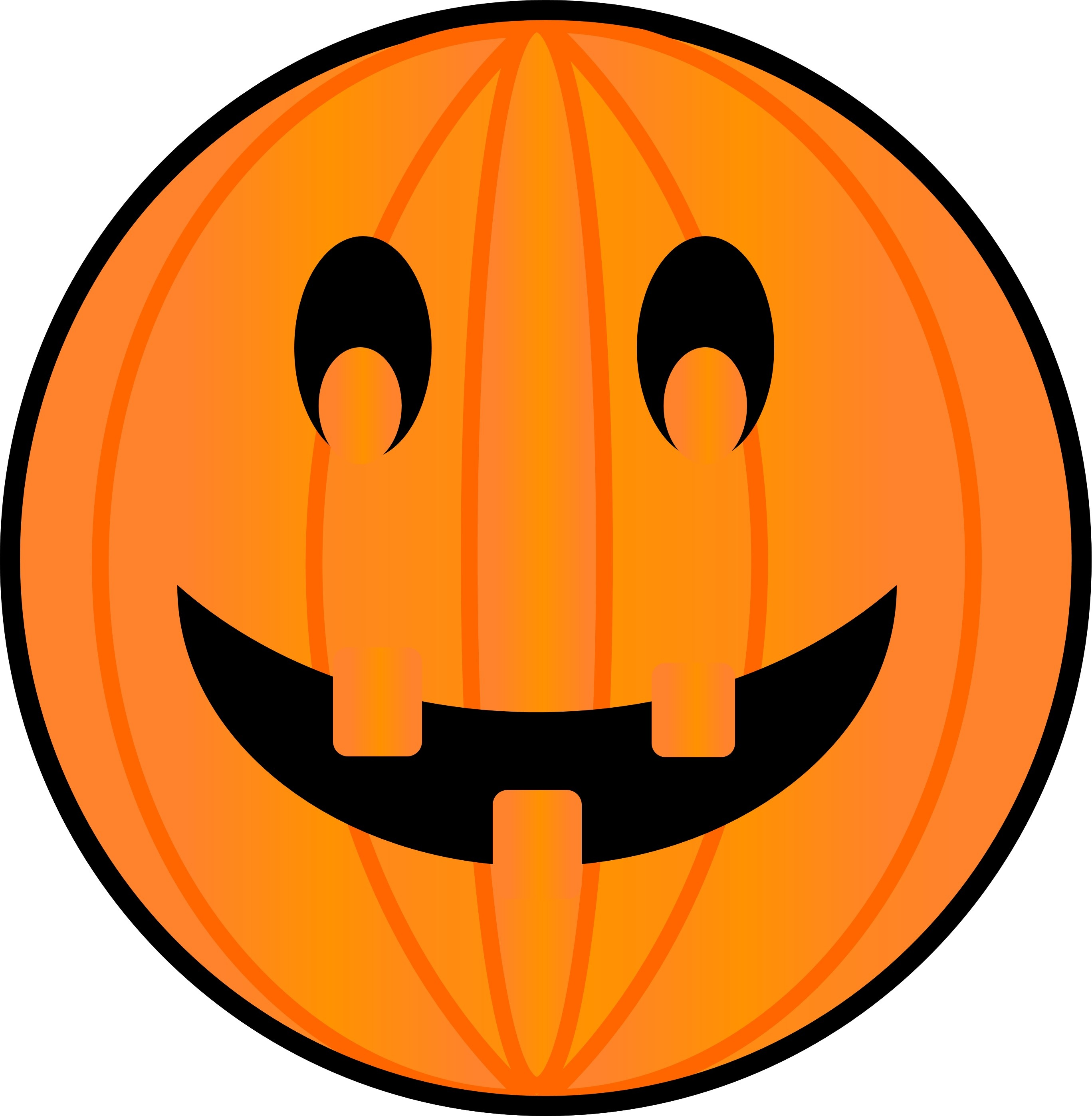 Symbol Of The Halloween In The Form Of A Pumpkin Free Image