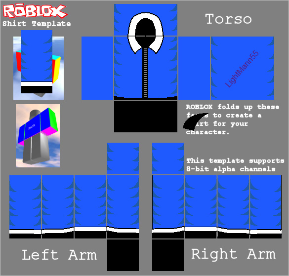 585 X 559 Size Roblox Template