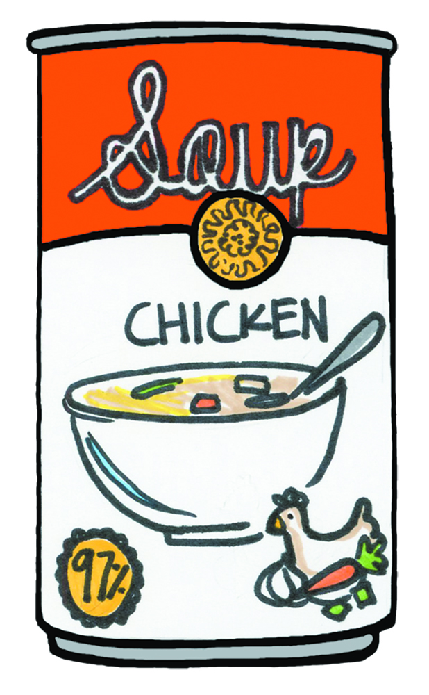 Canned food clipart free image