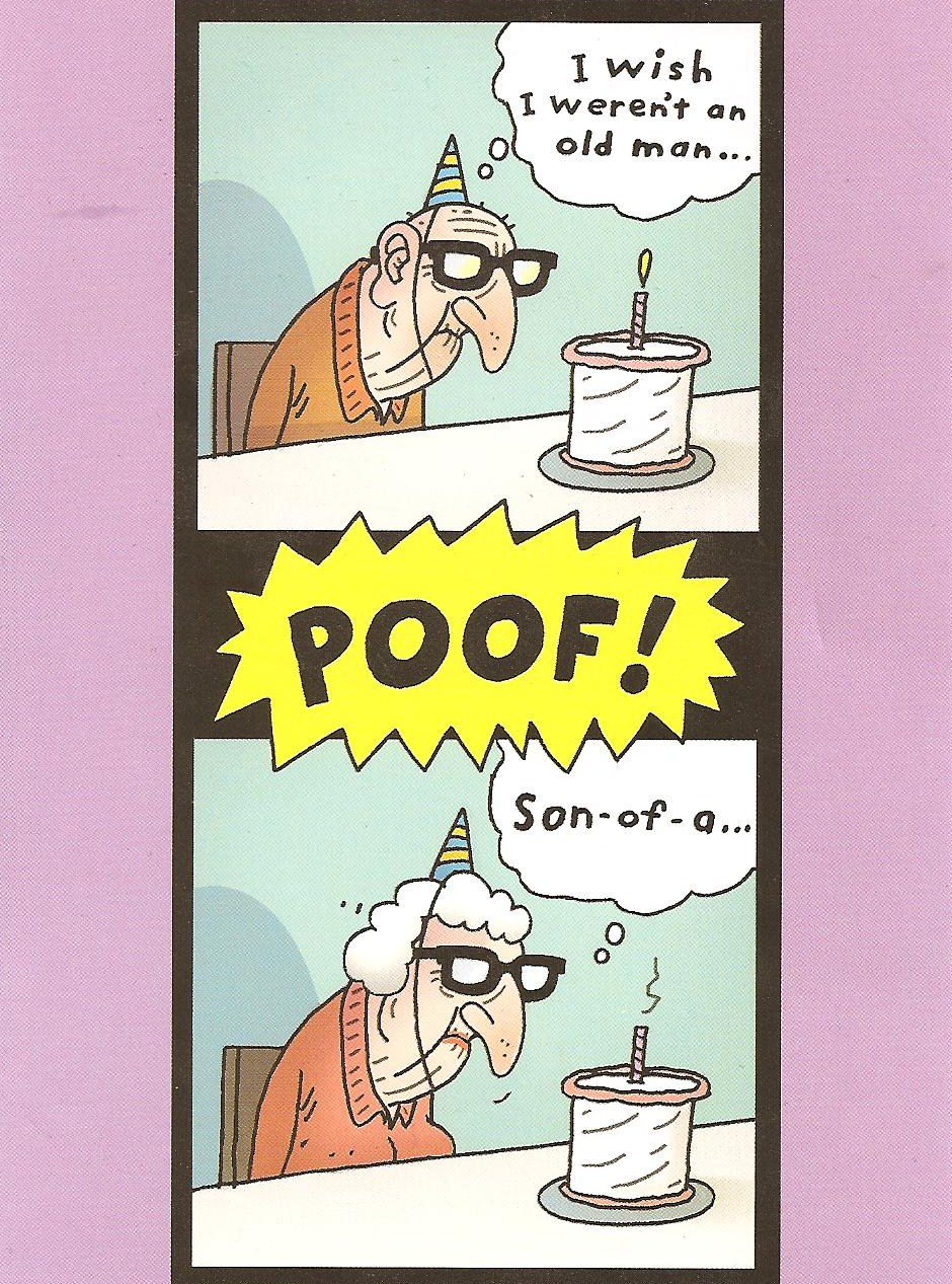 Funny Happy Birthday Of An Old Man Meme Free Image Download