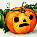 Vintage Jack O Lantern Drawing Free Image