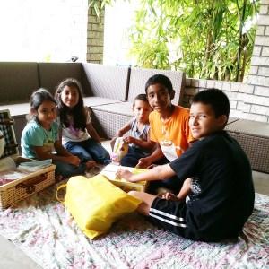 Porch picnic!