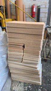 Tableros de madera alivianada