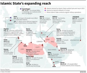 Islamic State Expanding Reach