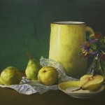Painting with Pastels: Jesus Maria Casati: Pitcher and Pears