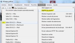 activar, en Agente de usuario, Mobile Safari – iPhone