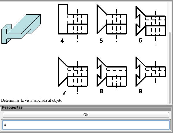 test dibujo técnico