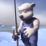 pescando con Sam