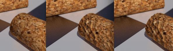 Comparación de técnicas Bump mapping y desplazamiento topológico