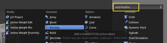 add modifier