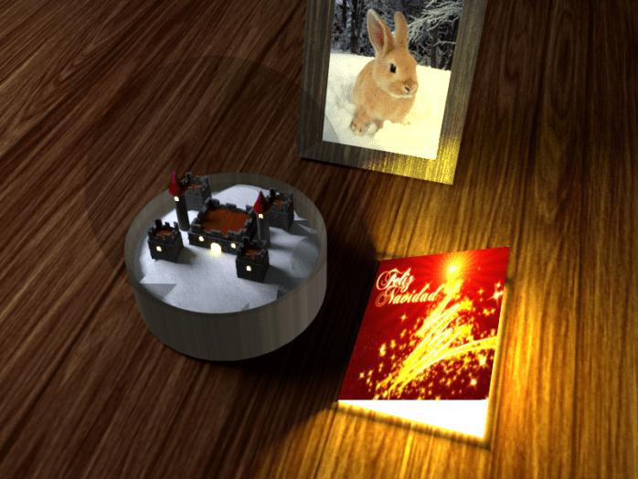 Postal de navidad de Vicente Gil de Sola