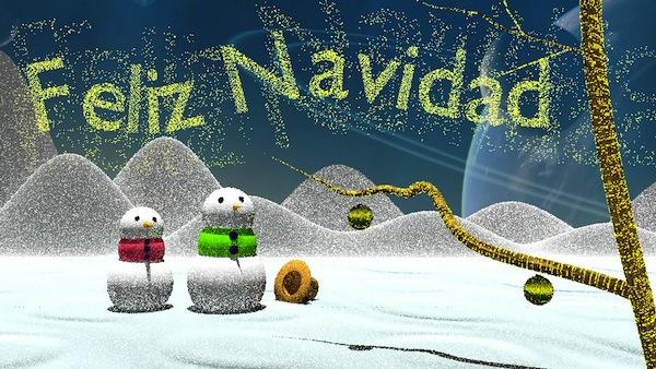 Postal Navidad Mario Sardonal