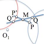 Determinación de un segmento conocido su punto medio [Solución]
