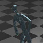 Modifiers in Blender : Ejemplo Skin : Character