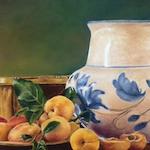 Pintura con Pastel: María Jesús Casati: Albaricoques