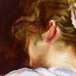 Painting with Pastels: Jesus Maria Casati: La hilandera de Velazquez