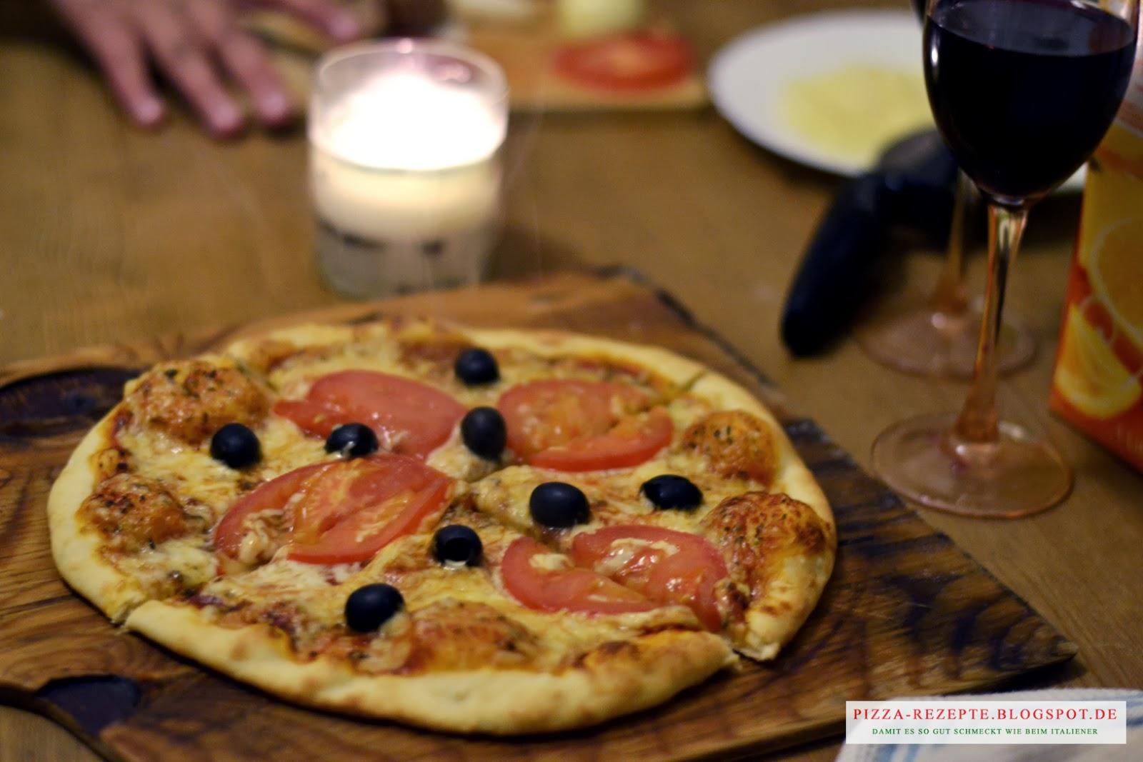 richtig pizza belegen