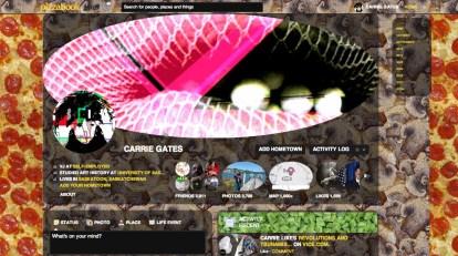 Mega Beta Pizzabook Screenshot - Oct. 2012