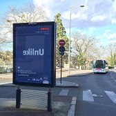 Unlike Exhibition 2016 in France - Street Signage