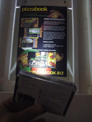 Unlike Exhibition 2016 in France - Tapebook and Pizzabook