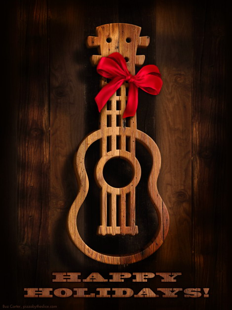 Ukulele Old West Holiday IPad Amp IPhone Wallpapers