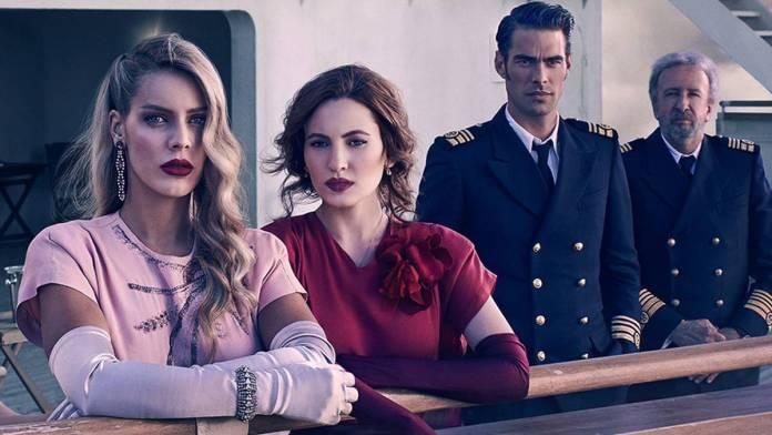 Serie española Netflix Alta Mar