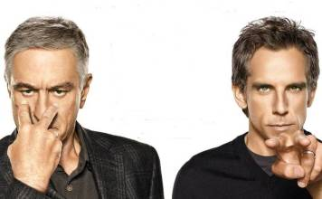 """Robert DeNiro y Ben Stiller en """"Los padres de ella"""""""
