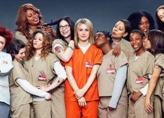 "El cast de ""Orange is the new black"""