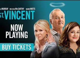 St. Vincent está protagonizada por el gran Bill Murray, y por Naomi Watts y Melissa McCarthy