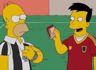 Los Simpson y la corrupción de la FIFA