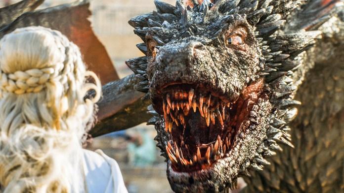 dragón Juego de tronos hbo españa madrid