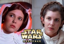 Millie Bobbie Brown Leia Star Wars Deepfake