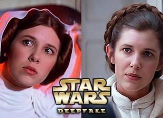 Millie Bobbie Brown Leia Star Wars Deepfake