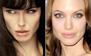 Actrices con Photoshop